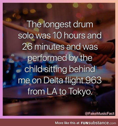 A fake music fact