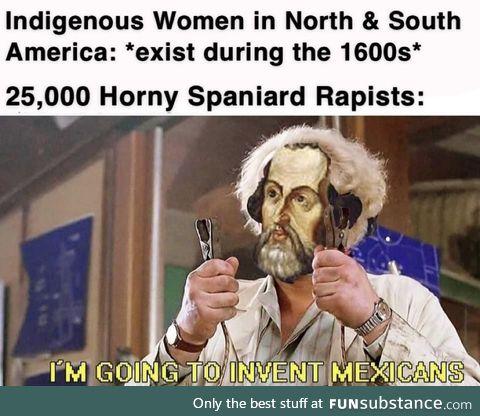 The Spanish were horrible btw