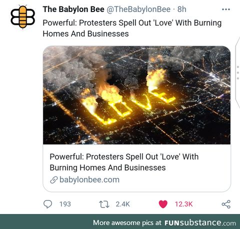 L is for the way you Burn Cities