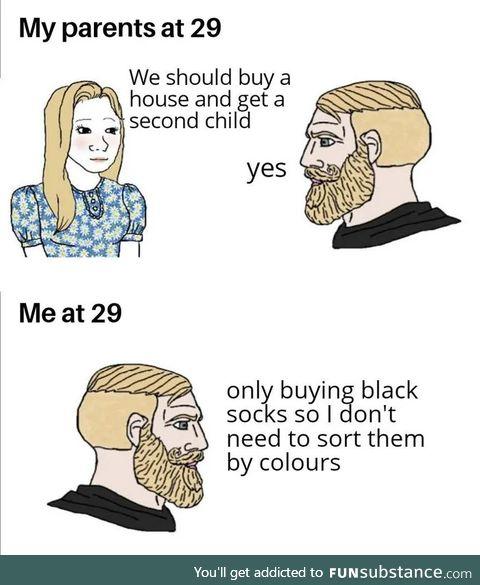 The solution for the socks dilemma