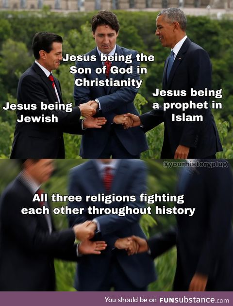Religion is one complicated mess