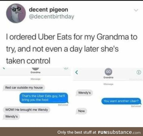 WHERE'S THE BEEF?! - gran, probably