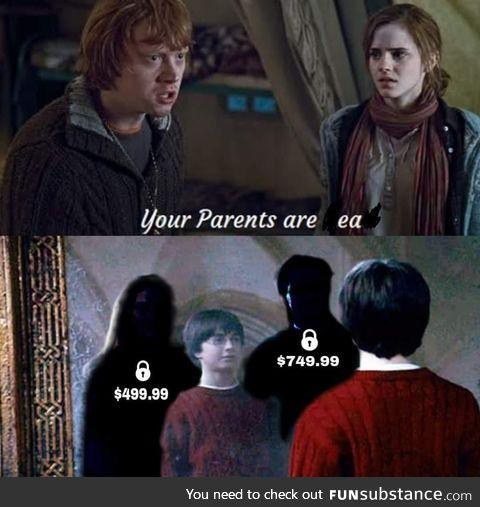 Wanna unlock your parents, Harry?
