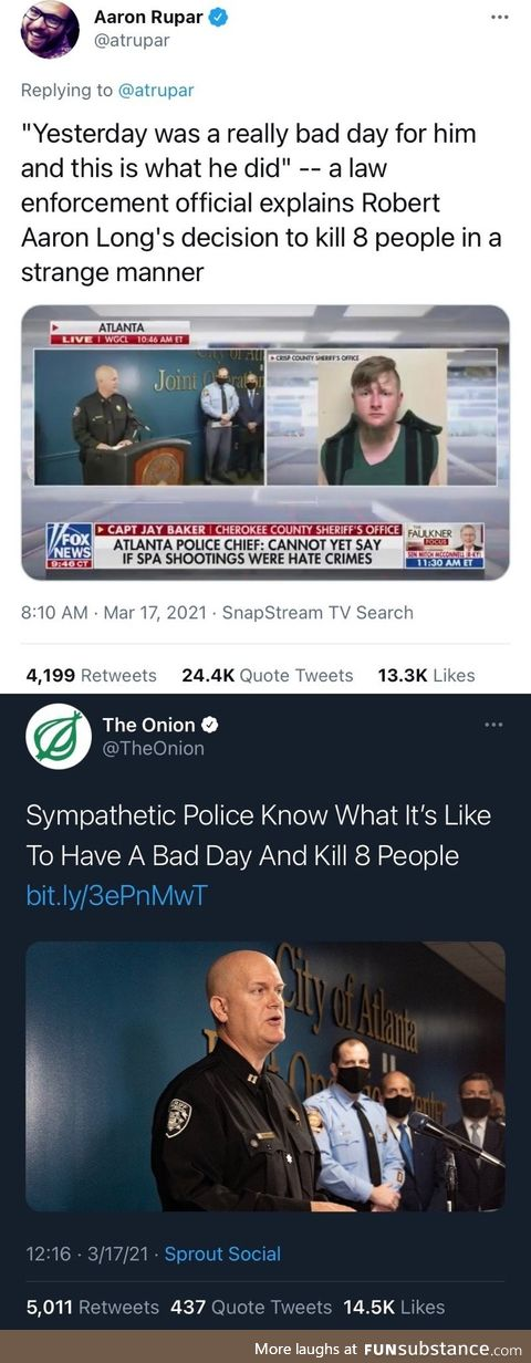 When the satire hits pretty hard