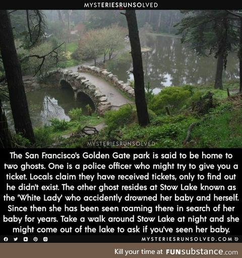 San Francisco's Golden Gate Ghosts