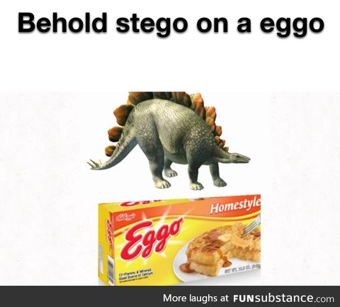 Steggo on eggos