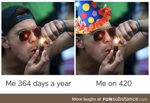 Happy 4/20 to all my fellow indulgers