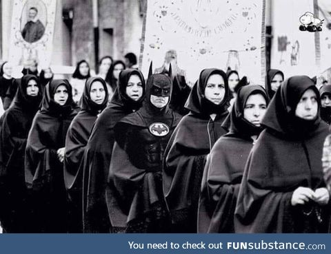 A group of Nuns waits for the evening prayer, 1960