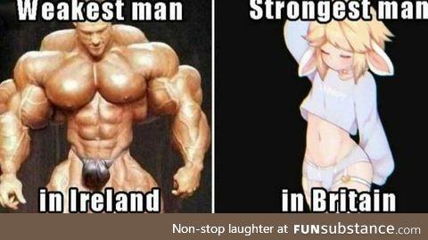 Irish Chad's rise up!