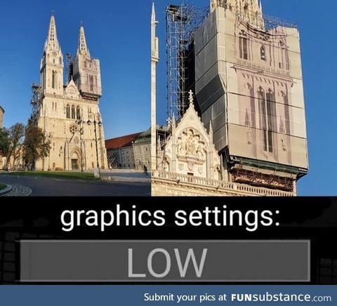 Low graphics