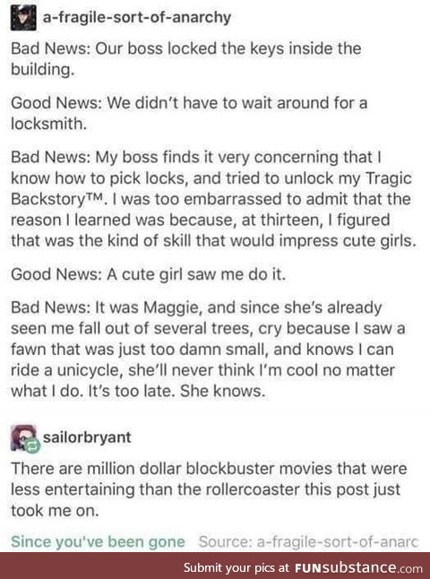 I love stories like these
