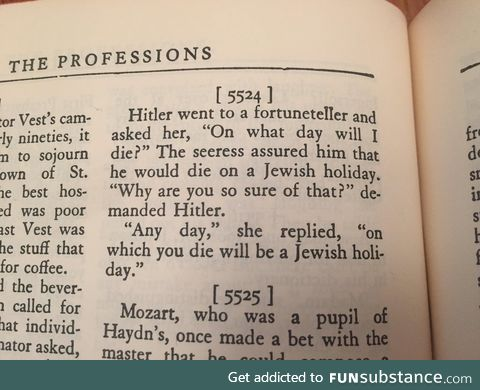 Joke books from the c. 1940's had a certain vibe about them