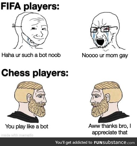 Chess is the superior game