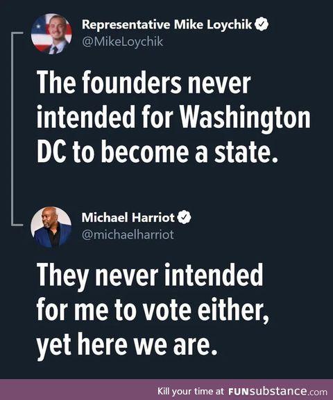 America is dynamic as heck!