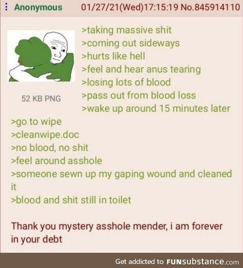 Anon doesn't eat enough fiber
