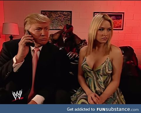 Donald Trump and Melania Trump moments before getting attacked by an illegal immigrant,