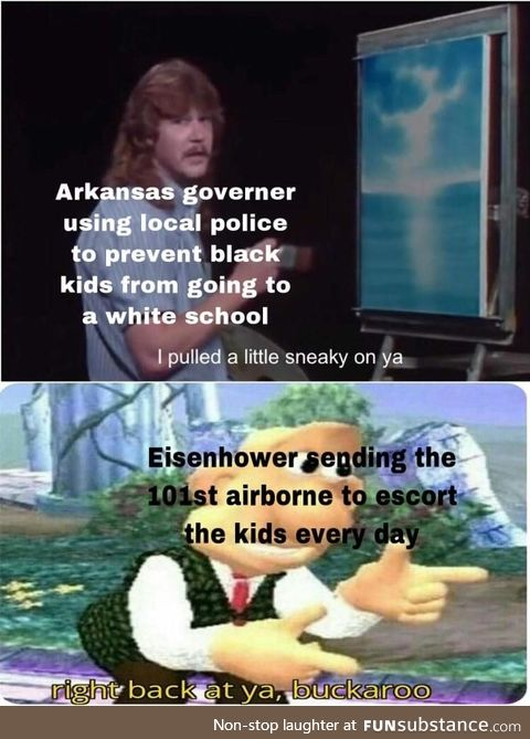 Chad move by eisenhower