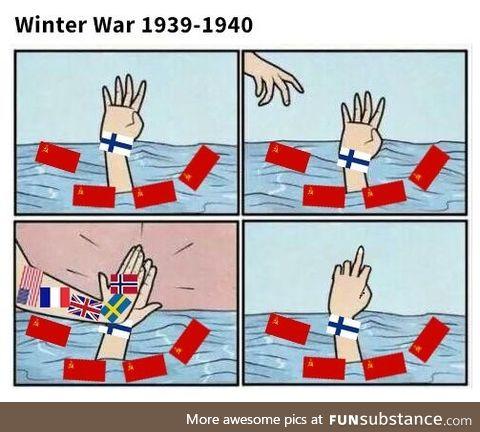 Winter War, a short summery