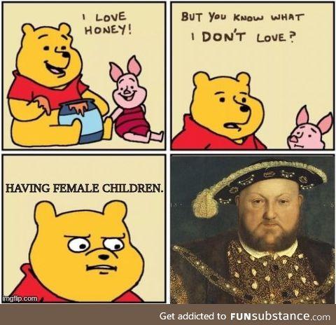 Henry VIII's rule in a nutshell: