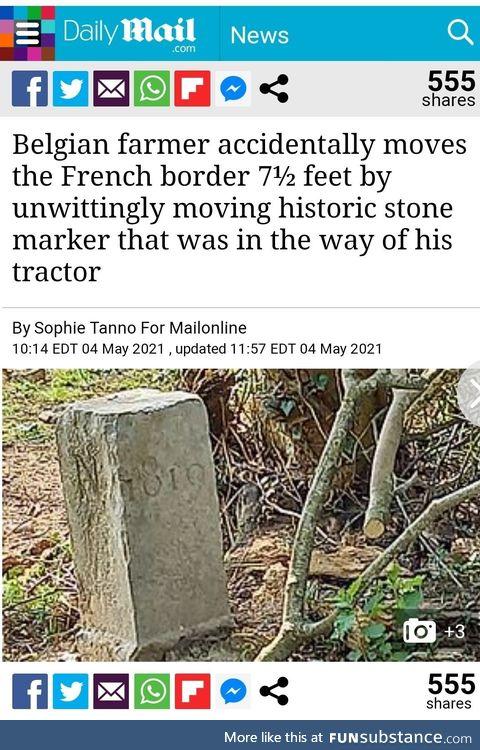 Happy little accident
