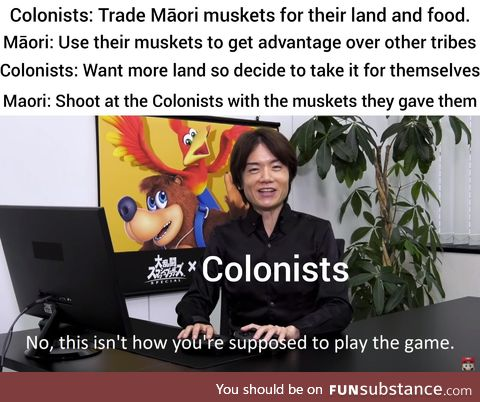 And thus, the New Zealand wars begin