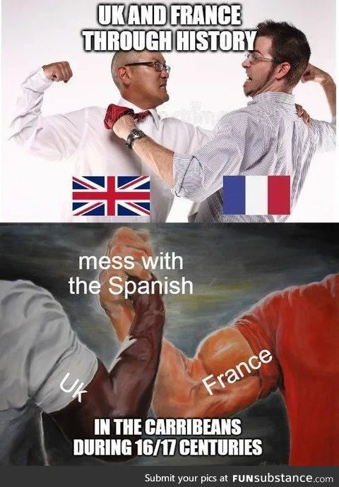 Goddamn spaniards they ruined spain