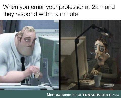 College, man