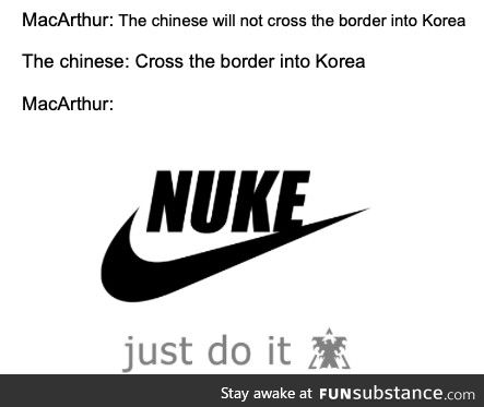 Just nuke it, what a simple solution
