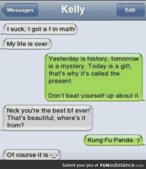 The Holy Story of Kung Fu Panda