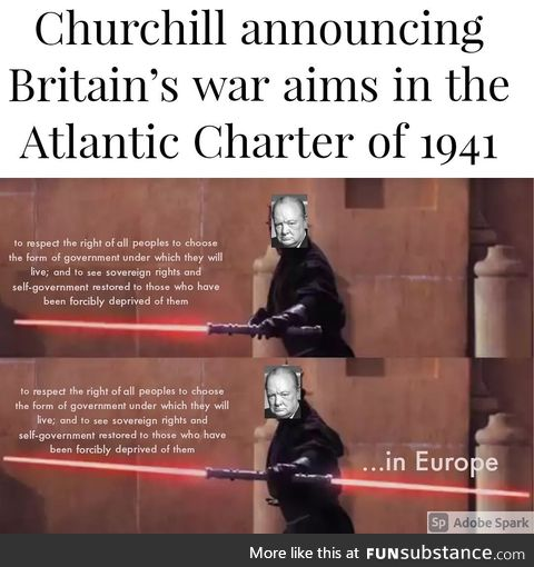 As it's May 4th - Wrong Empire though