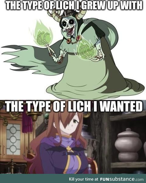 """""""Mom can we have a lich?"""""""
