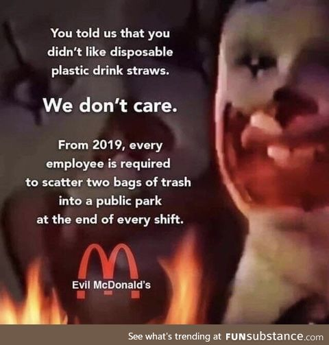 McDonalds teaching them turtles a lesson shift after shift