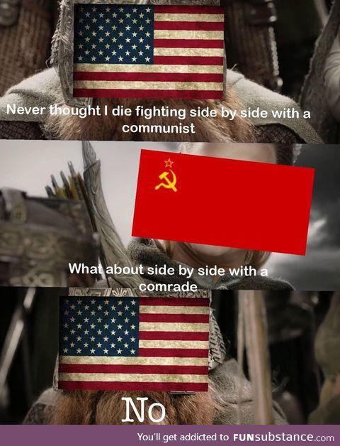 Communist detected on American soil