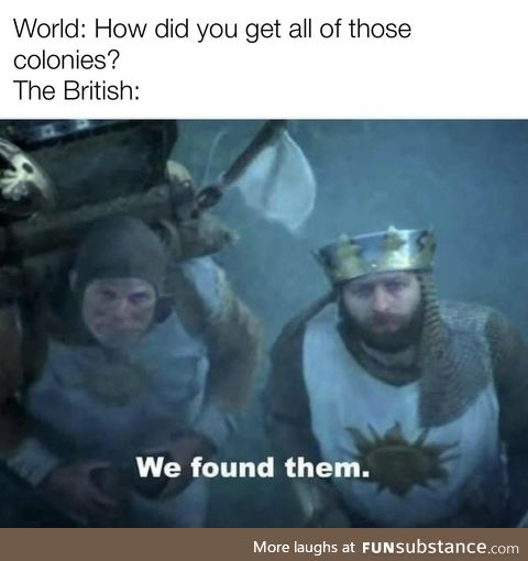 Just because they don't know they are Britain's doesn't they arnt