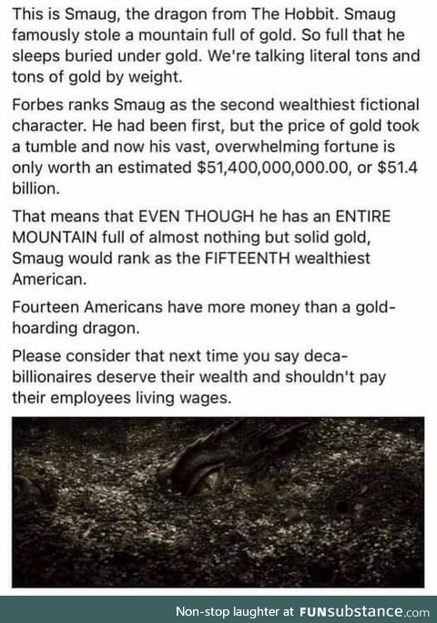 Smaug is on Forbes 500