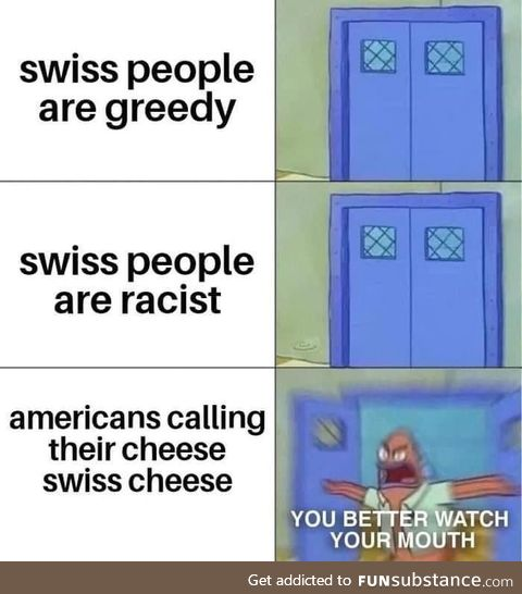 """No sweaty, the term is """"Cheese resembling grease production byproducts, colorized"""