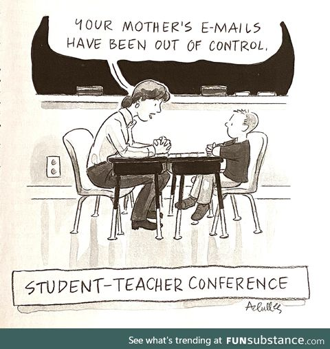 Student-teacher conference