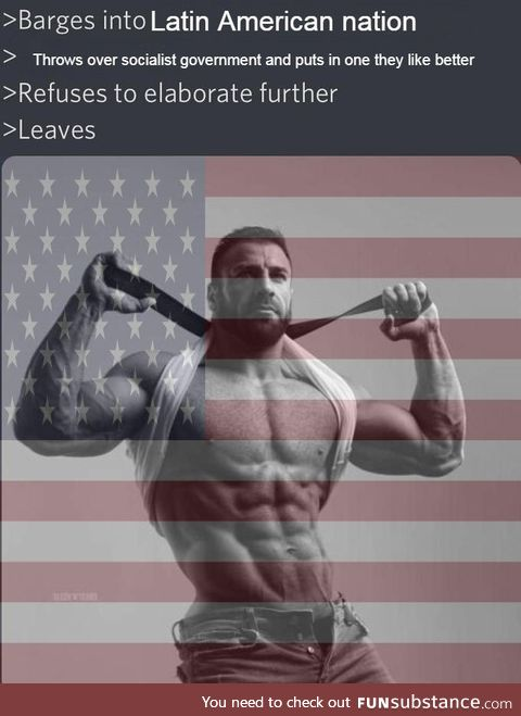 They're the ultimate Chad of Chads