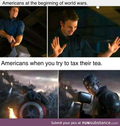 Why should a tiny nation across the sea regulate the price of tea?