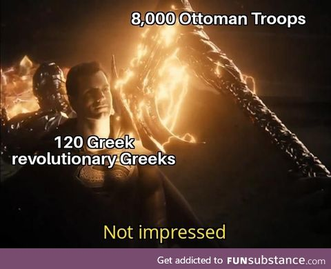 The Battle of Gravia Inn, 1821 Greeks were something else