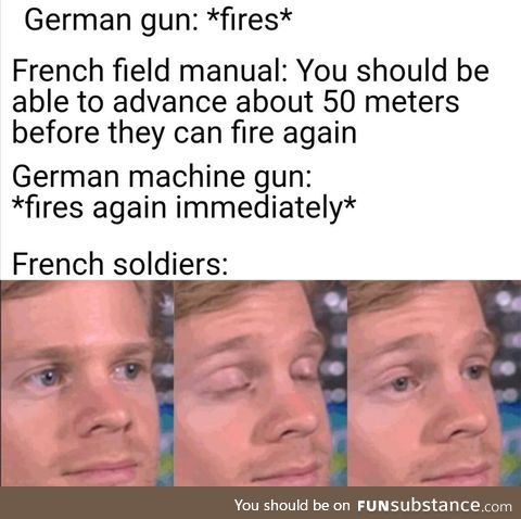 First week of the great war was brutal for the French