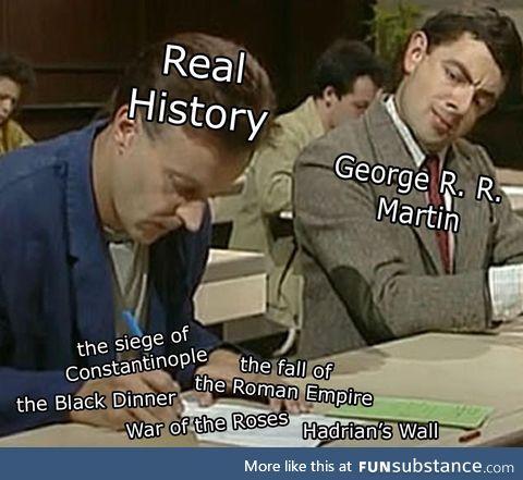 George R. R. Martin inspirations