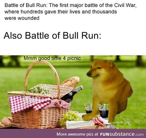 The picnic battle