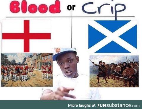 Blood or crip?