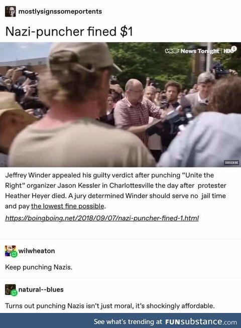 Affordable nazi bashing