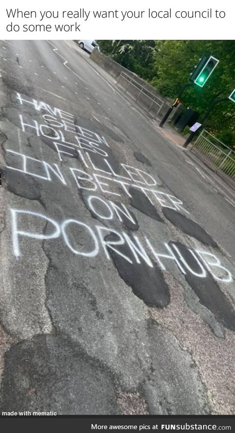 How to deal with Potholes