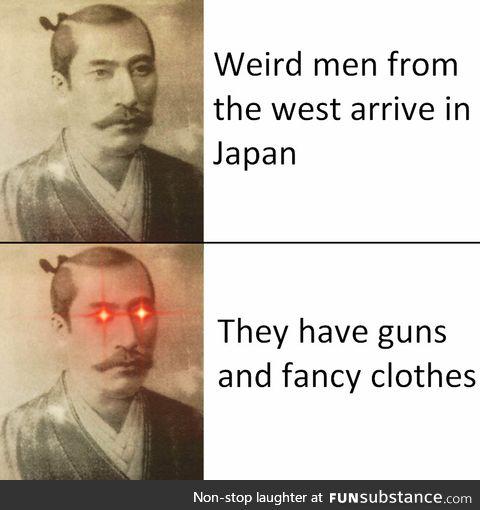 Nobunaga, the first Westaboo