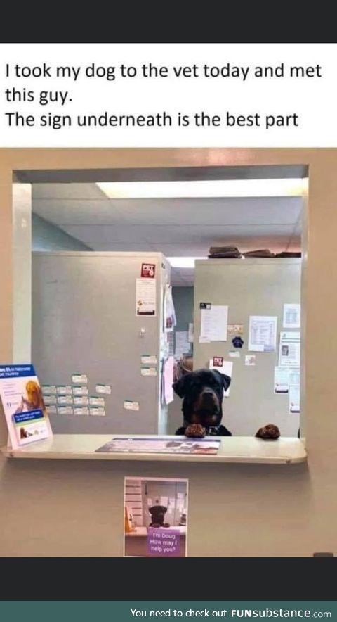 Doug has excellent customer service skills