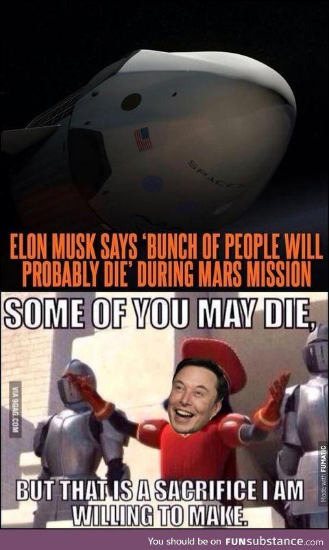 SpaceX suicide squad