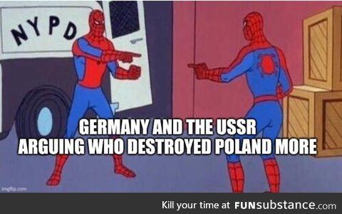 A western betrayal, made of 40 divisions